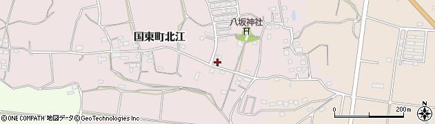 大分県国東市国東町北江855周辺の地図