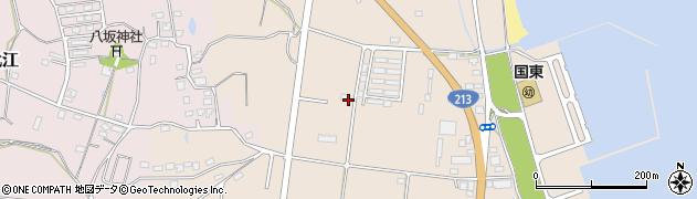 大分県国東市国東町田深1043周辺の地図