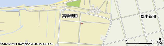 大分県宇佐市高砂新田周辺の地図