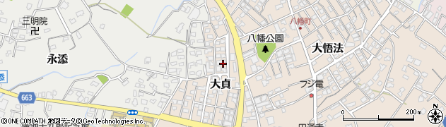 大分県中津市大貞362周辺の地図