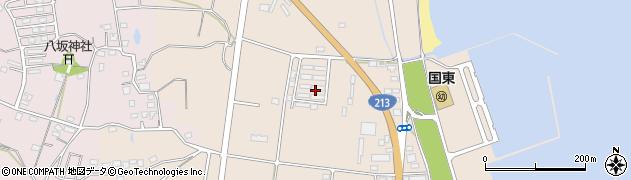 大分県国東市国東町田深1022周辺の地図