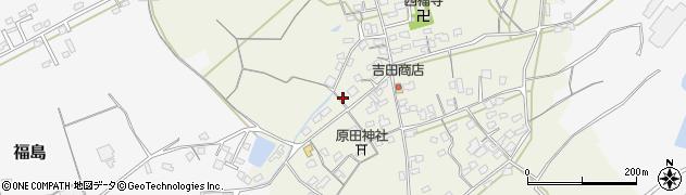 大分県中津市北原413周辺の地図