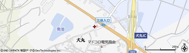 大分県中津市犬丸2421周辺の地図
