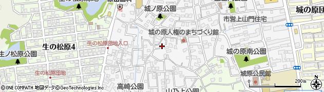 福岡県福岡市西区上山門周辺の地図