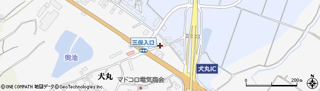大分県中津市犬丸2394周辺の地図