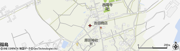 大分県中津市北原404周辺の地図
