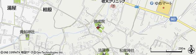 徳成院周辺の地図