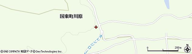 大分県国東市国東町川原1404周辺の地図