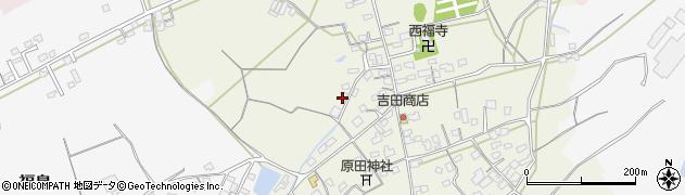 大分県中津市北原443周辺の地図