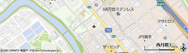 エメラルドマンション周辺の地図