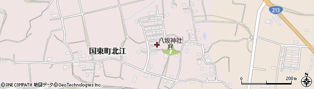 大分県国東市国東町北江875周辺の地図