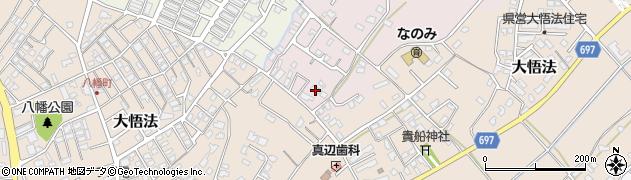 大分県中津市上如水1069周辺の地図