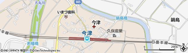 大分県中津市今津1007周辺の地図