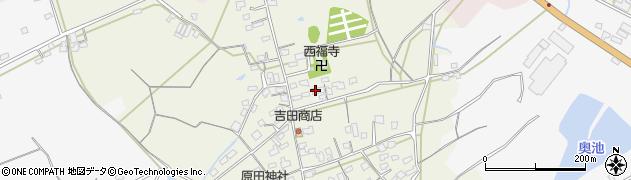 大分県中津市北原704周辺の地図
