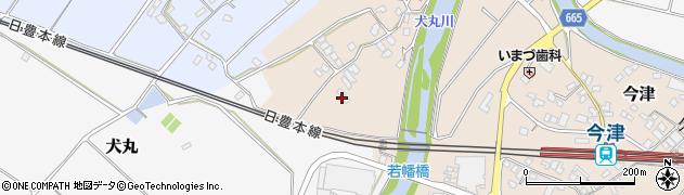 大分県中津市今津727周辺の地図
