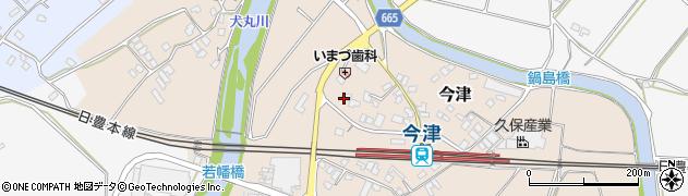 大分県中津市今津1052周辺の地図