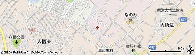 大分県中津市上如水1057周辺の地図