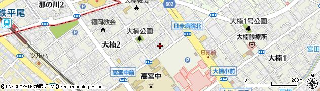 有限会社花咲周辺の地図