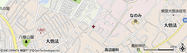 大分県中津市上如水1061周辺の地図