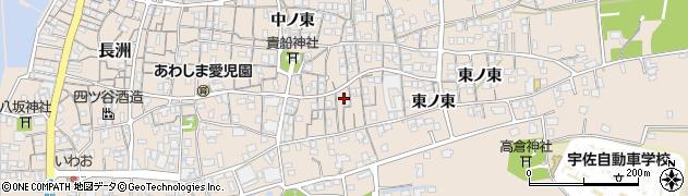 大分県宇佐市長洲周辺の地図