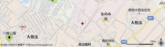 大分県中津市上如水周辺の地図