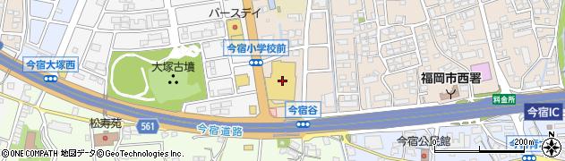 ルミエール今宿店周辺の地図