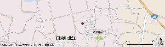 大分県国東市国東町北江905周辺の地図