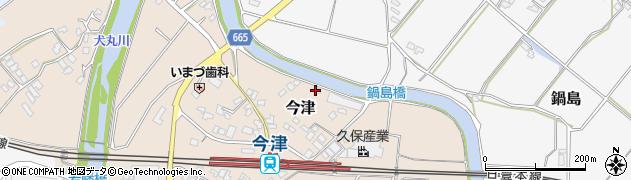 大分県中津市今津851周辺の地図