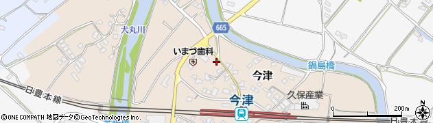 大分県中津市今津31周辺の地図