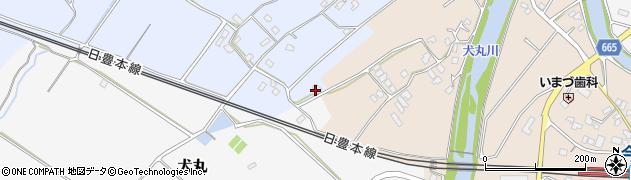 大分県中津市赤迫80周辺の地図