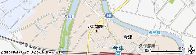 大分県中津市今津1045周辺の地図
