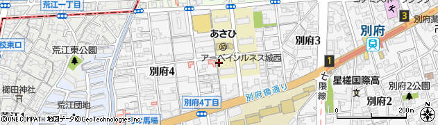 福岡県福岡市城南区城西団地周辺の地図