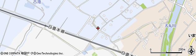 大分県中津市赤迫36周辺の地図