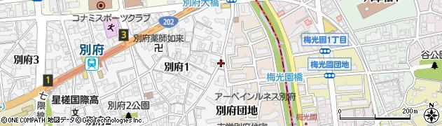 別府はり灸整骨院周辺の地図