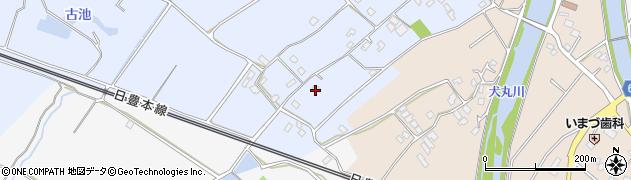 大分県中津市赤迫55周辺の地図