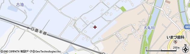 大分県中津市赤迫58周辺の地図