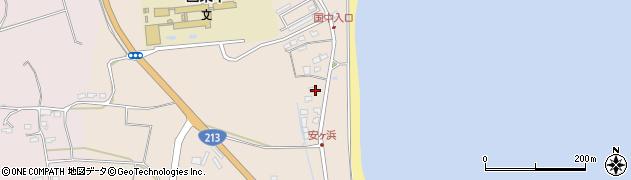 大分県国東市国東町田深1241周辺の地図