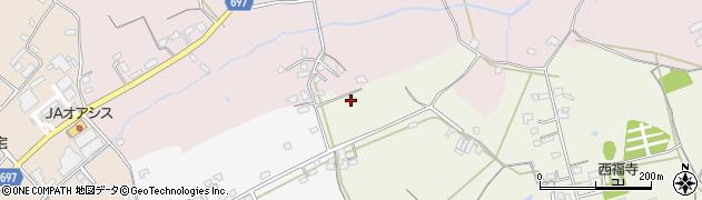 大分県中津市北原1713周辺の地図