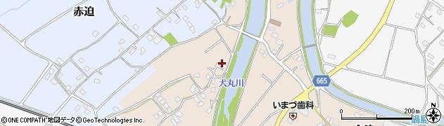 大分県中津市今津648周辺の地図