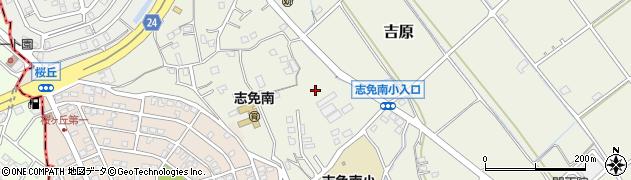 福岡県志免町(糟屋郡)吉原周辺の地図