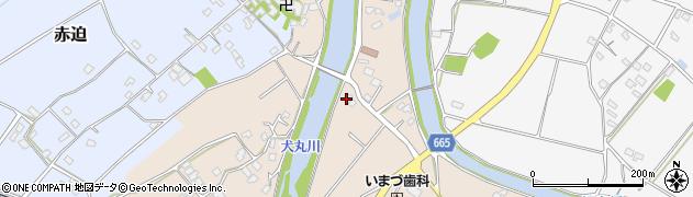 大分県中津市今津1130周辺の地図