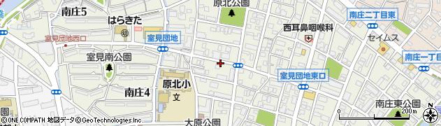 福岡県福岡市早良区南庄周辺の地図