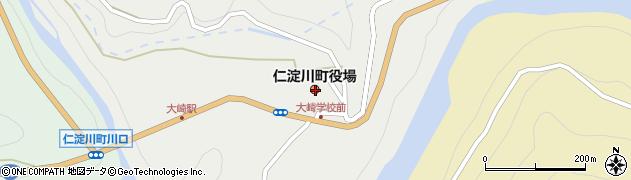 高知県吾川郡仁淀川町周辺の地図