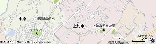 大分県中津市上如水1041周辺の地図