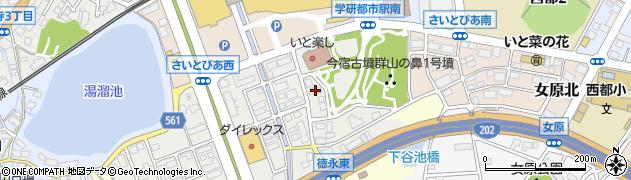 福岡県福岡市西区徳永北周辺の地図