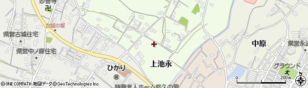 大分県中津市上池永65周辺の地図