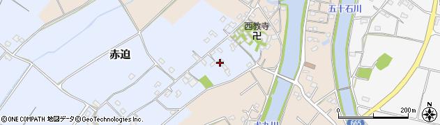 大分県中津市赤迫161周辺の地図