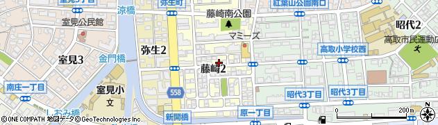 福岡興業株式会社周辺の地図