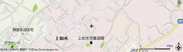 大分県中津市上如水944周辺の地図
