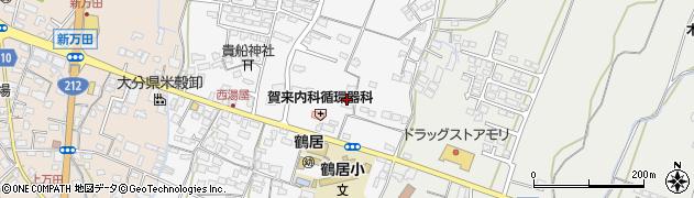 大分県中津市湯屋周辺の地図